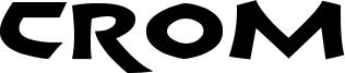 Crom Font