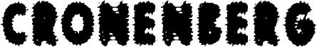 Cronenberg Font
