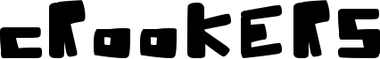 Crookers Font