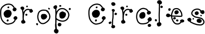 Crop Circles Font