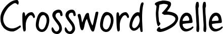 Crossword Belle Font