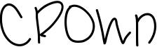 Crown Font