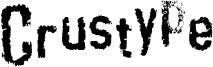 Crustype Font