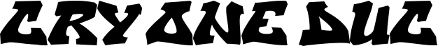 Cry One Duc Font