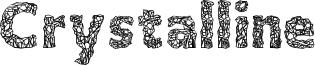 Crystalline Font