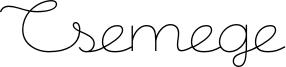 Csemege Font