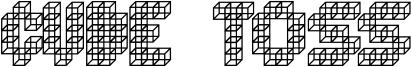 Cube Toss Font