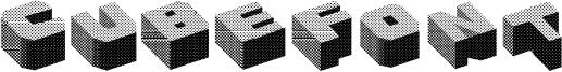 Cubefont Font