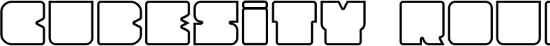 Cubesity rounded outline v2.ttf