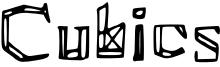 Cubics Font
