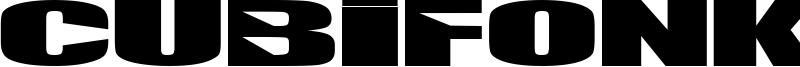 Cubifonk Font