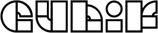 Cubik Font