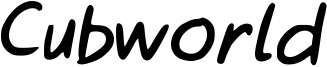 Cubworld Font
