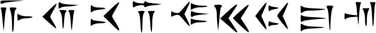 Cunieform Font