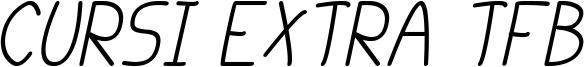 cursi extra tfb cursive.ttf