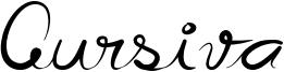 Cursiva Font