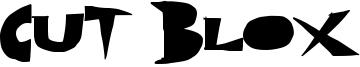 Cut Blox Font