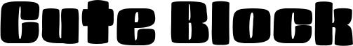 Cute Block Font