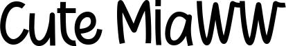 Cute Miaww Font