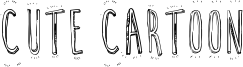 Cute Cartoon Font