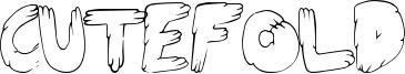 CuteFold Font