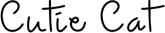Cutie Cat Font