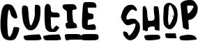 Cutie Shop Font