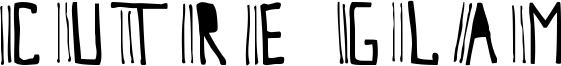 Cutre Glam Font