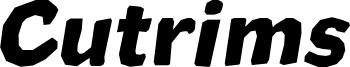 Cutrims Italic.otf
