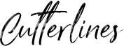 Cutterlines Font