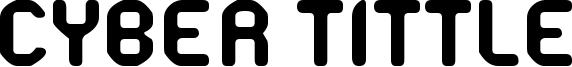 Cyber Tittle Font