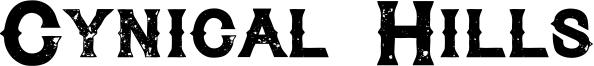 Cynical Hills Font