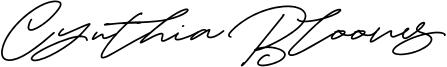 Cynthia Blooms Font