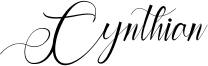 Cynthian Font