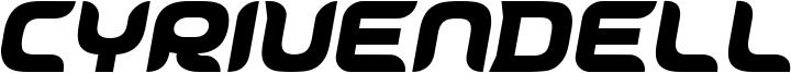 Cyrivendell Font