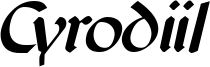 Cyrodiil Italic.otf