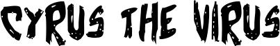 Cyrus the Virus Font