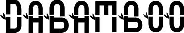 DaBamboo Font