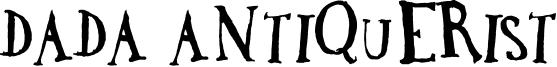 DaDa Antiquerist Font