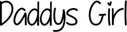 Daddys Girl Font
