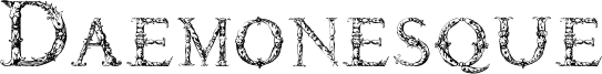 Daemonesque Font