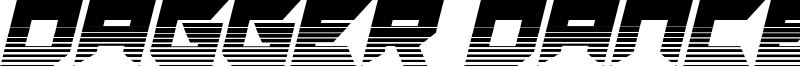 Dagger Dancer Font