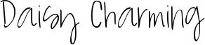 Daisy Charming Font