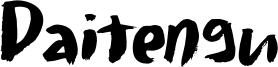 Daitengu Font