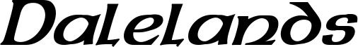Dalelands Uncial Bold Italic.otf