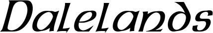 Dalelands Uncial Condensed Italic.otf