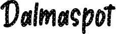 Dalmaspot Font