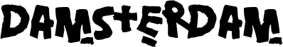 Damsterdam Font