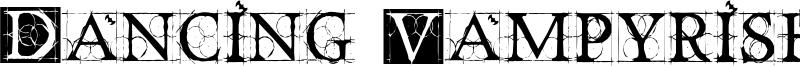 Dancing Vampyrish Font