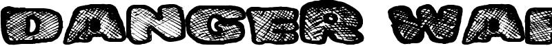 Danger Waffles Font